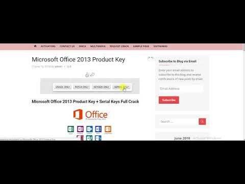 microsoft office 2013 cracked product keys