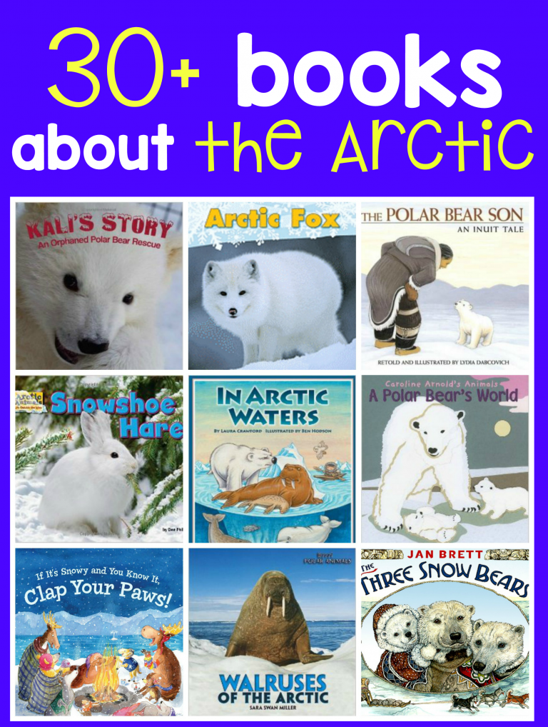 Books About Arctic Animals The Measured Mom In 2020 Polar Animals Preschool Arctic Animals Preschool Arctic Animals