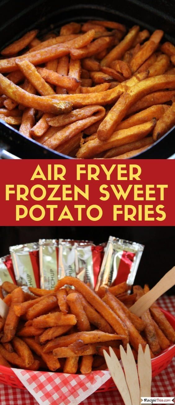 Air Fryer Frozen Sweet Potato Fries Recipe Frozen