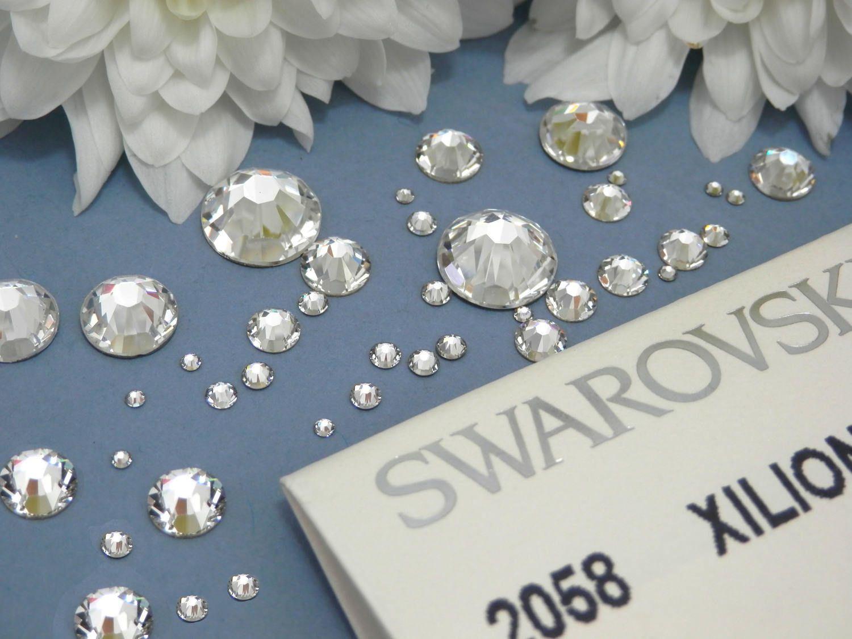 844cde3dc1 Genuine Swarovski Crystal Rhinestones flat back - Crystal Clear ...