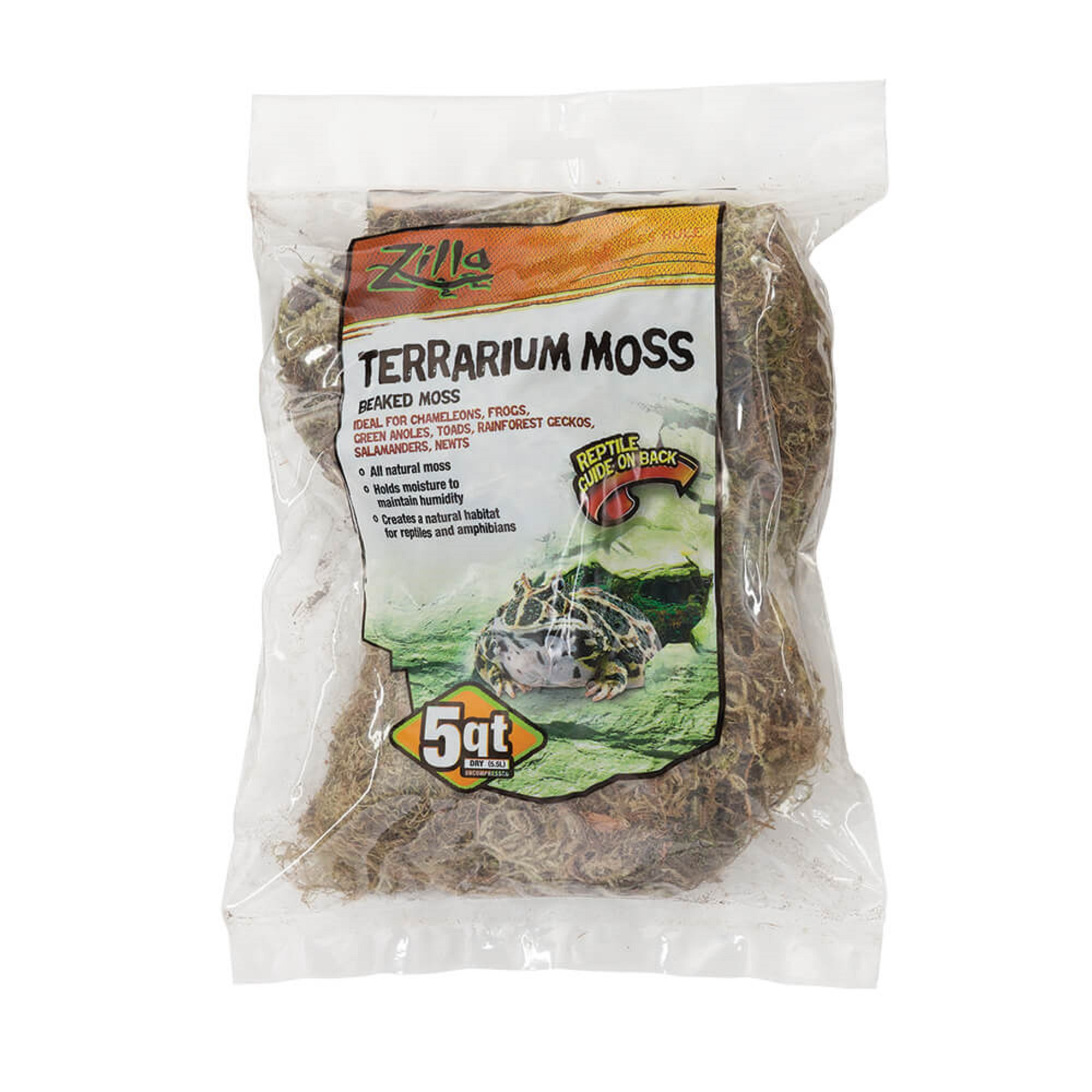 Zilla Beaked Moss Reptile Bedding, 5 quarts in 2020 (With