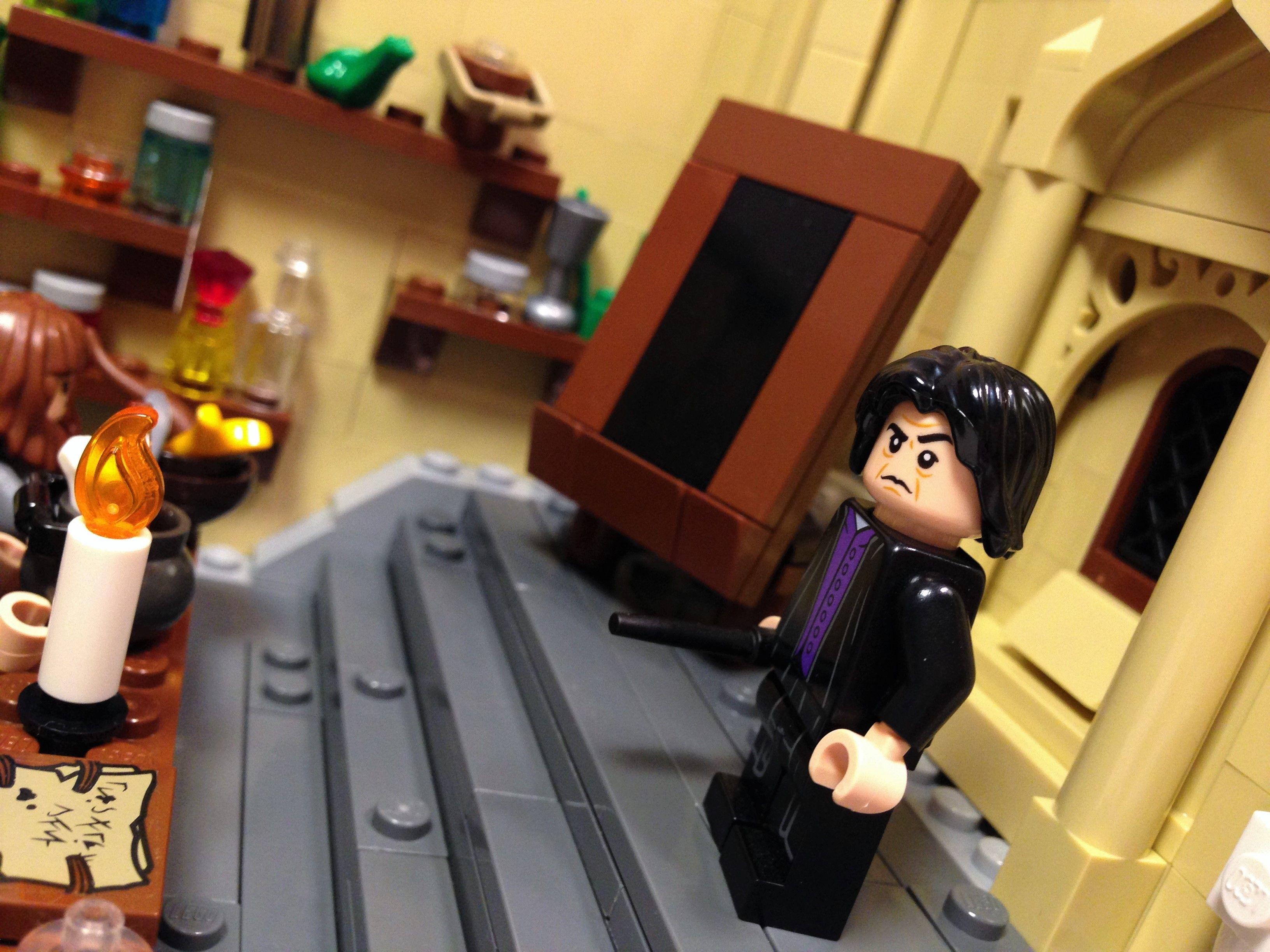 Potions Class Lego Harry Potter Moc Lego Harry Potter Moc Lego Harry Potter Lego Hogwarts