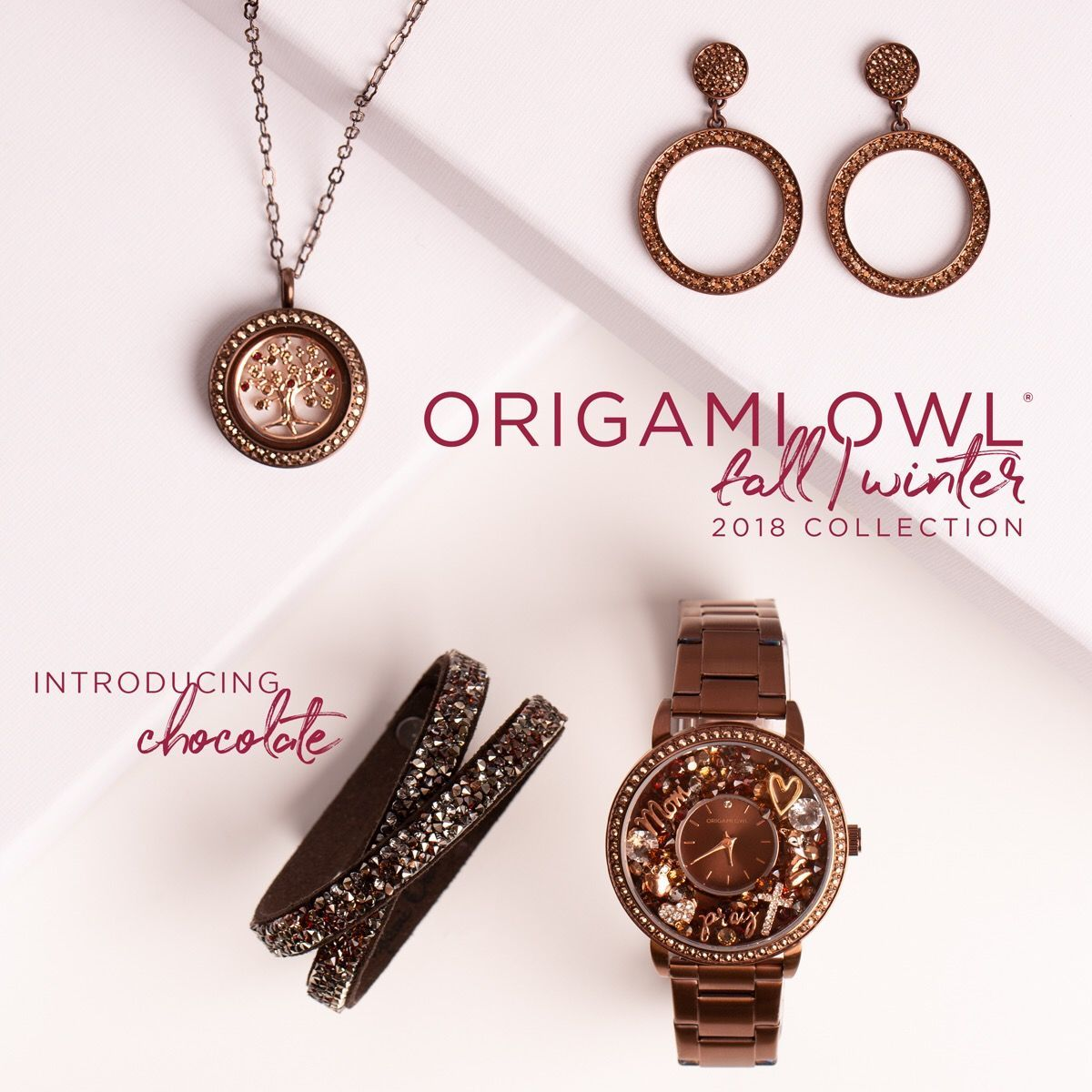 New Origami Owl bag clip & key chain. Add one or our solid base ... | 1200x1200