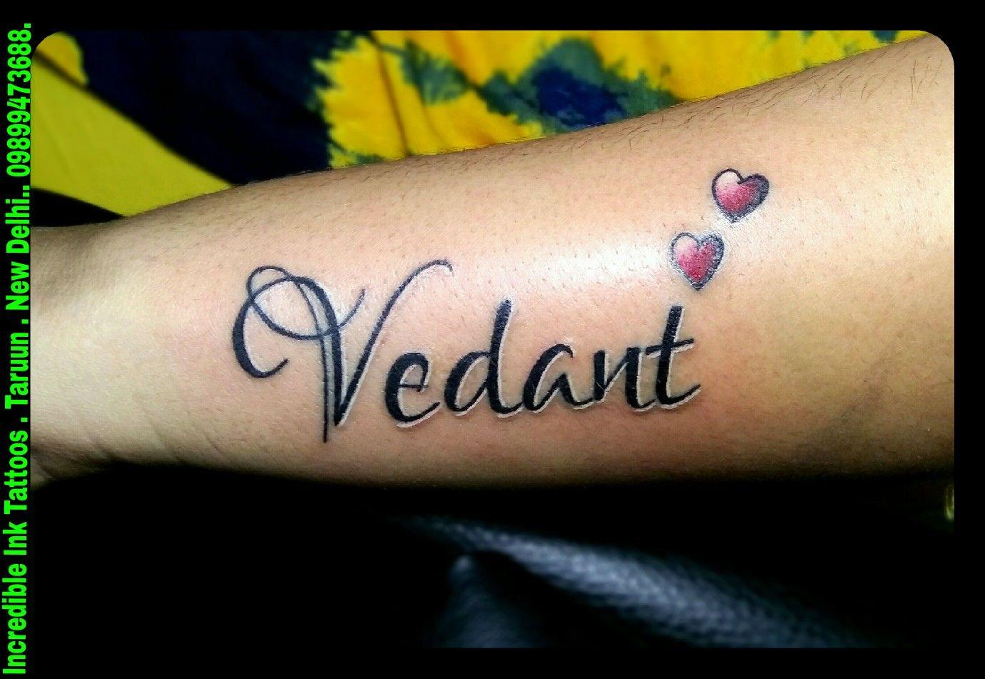 9383edfa3 Vedant #Name #Tattoo Vedant Name Tattoos | Incredible Ink Tattoos ...