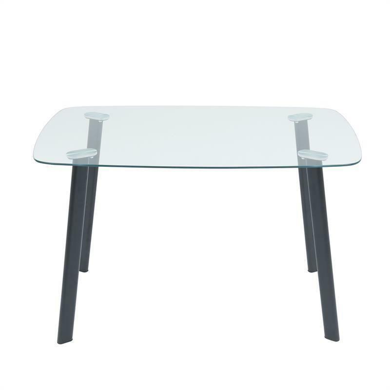 Esstisch Glastisch Kuchentisch 120 X 70 Cm Esszimmertisch Glas Tisch 4 Personen In 2020 Office Furniture Set Office Furniture Design Ikea Office Furniture