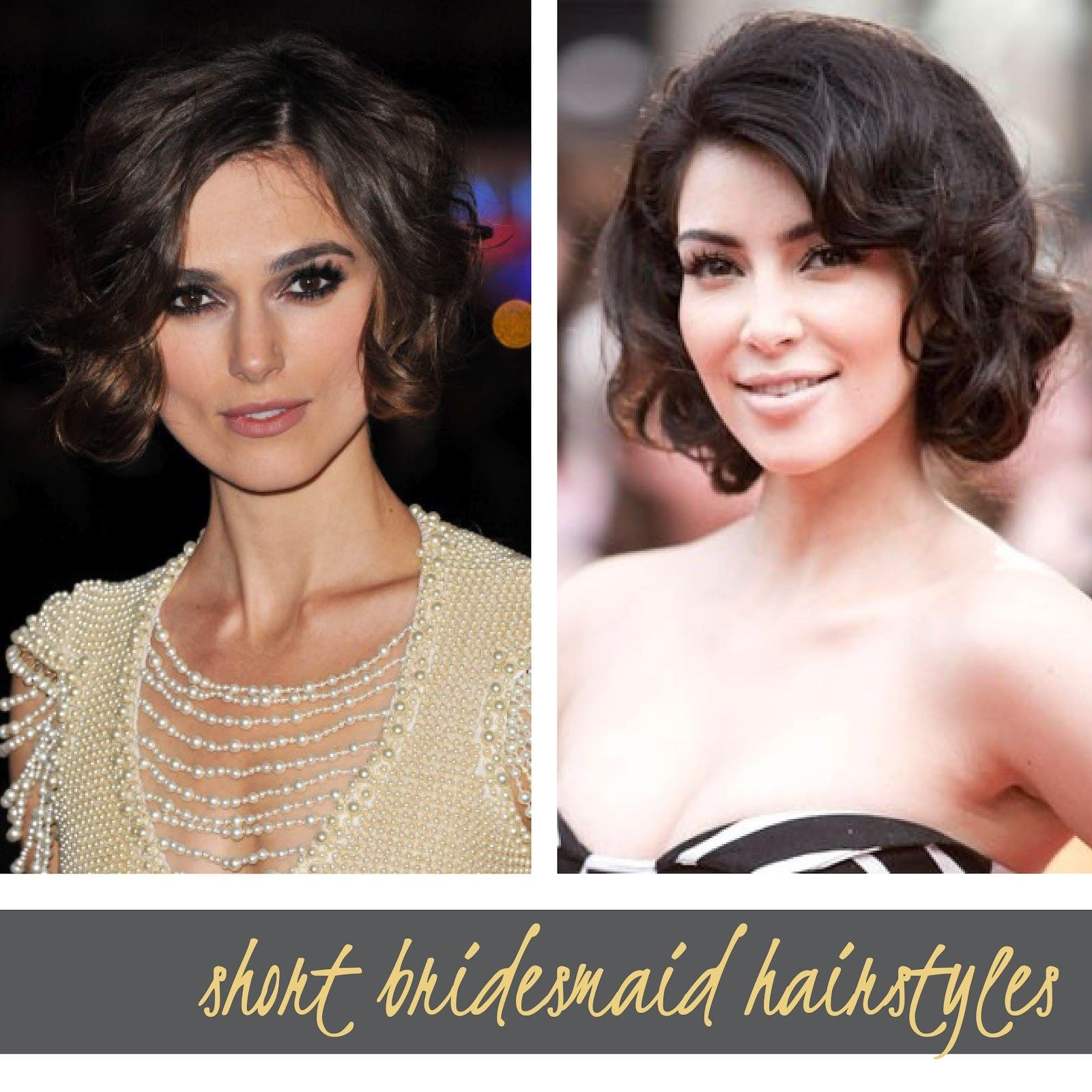 Astounding Side Ponytail Curly Short Hairstyles For Wedding Bridesmaid With Hairstyles For Women Draintrainus