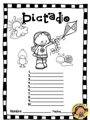 Plantillas Para El Dictado Diferentes Niveles Actividades Escolares Enseñanza De Las Letras Estrategias De Escritura