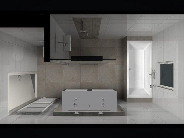 De indeling van een kleine badkamer is een hele uitdaging. Gelukkig ...