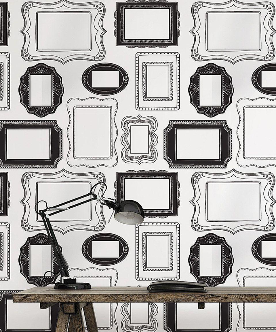 Photo Opp Frame Peel Stick Wallpaper Framed Wallpaper Feature Wall Wallpaper Wallpaper For Sale