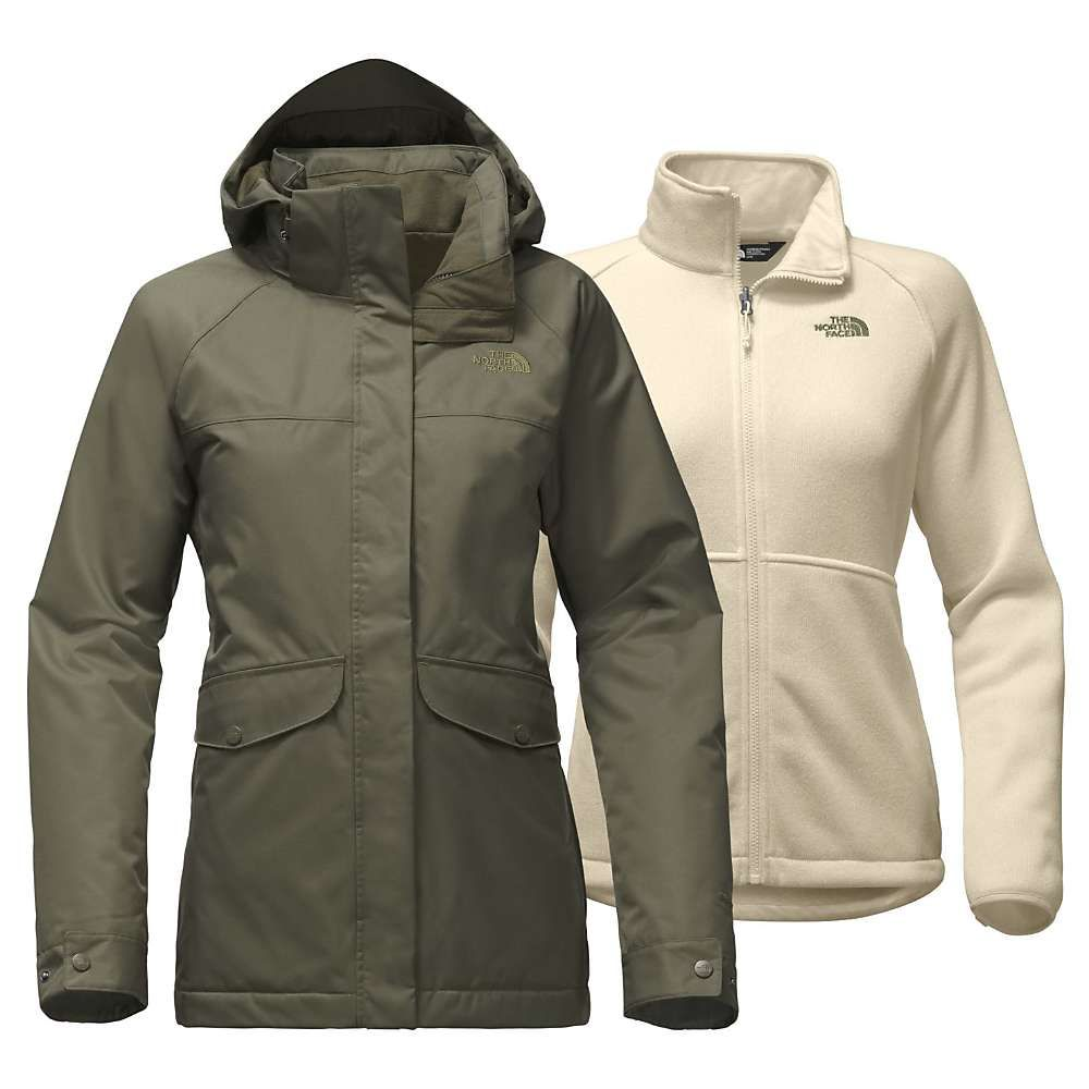 22ad1c3dfdd48 The North Face Women's Merriwood Triclimate Jacket - Medium - New Taupe  Green