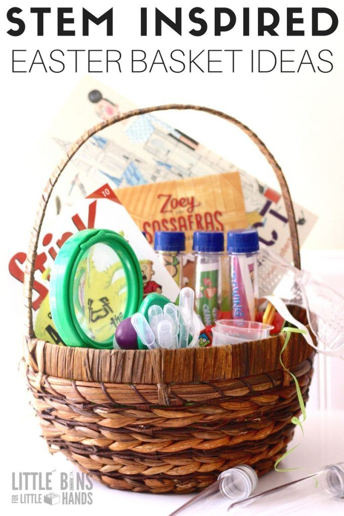 Stem easter basket ideas for kids science activities science fill your easter basket with stem and science tools that will last the whole year and beyond encourage stem at home and family negle Image collections