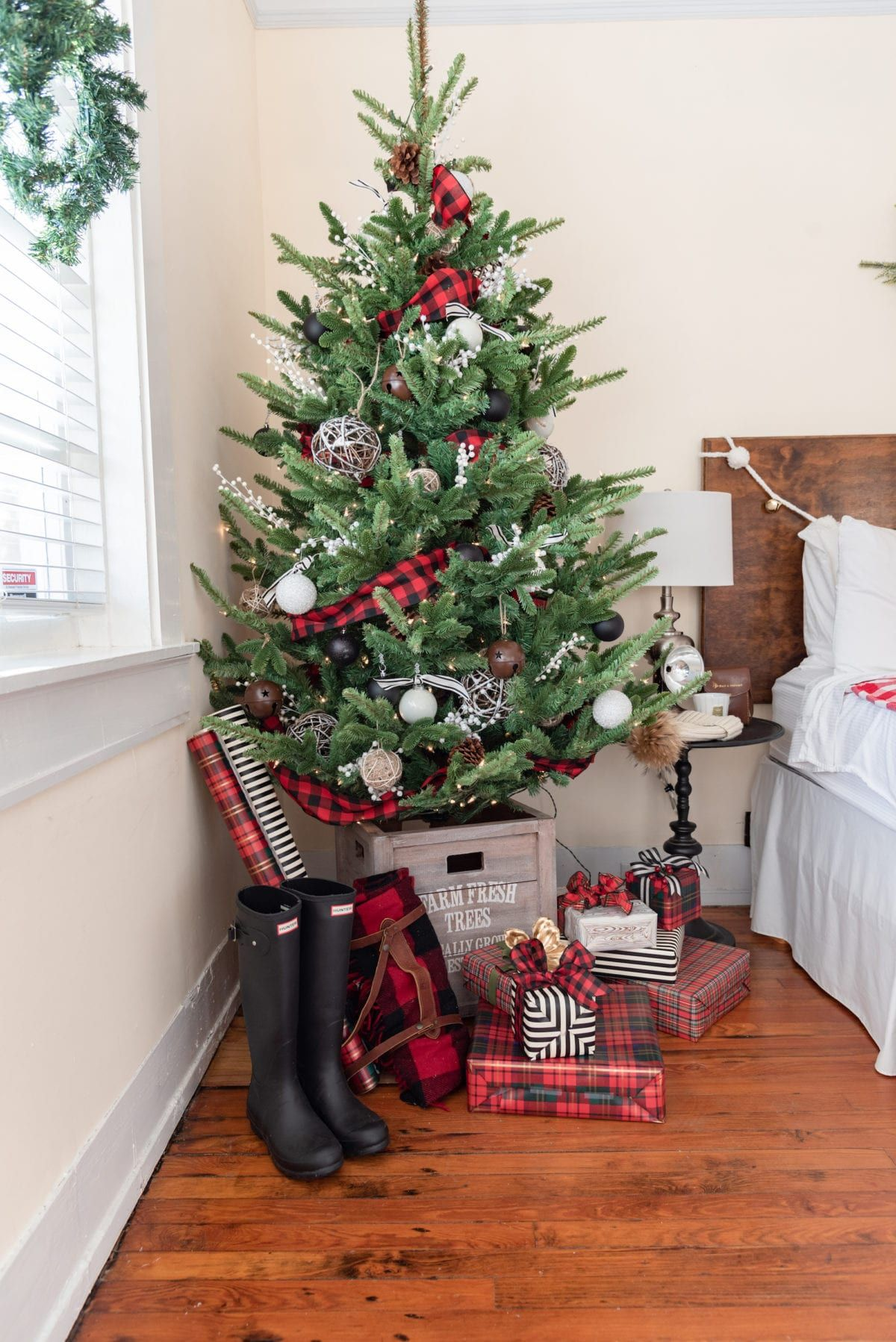 Best At Home For The Holidays Master Bedroom Christmas 400 x 300