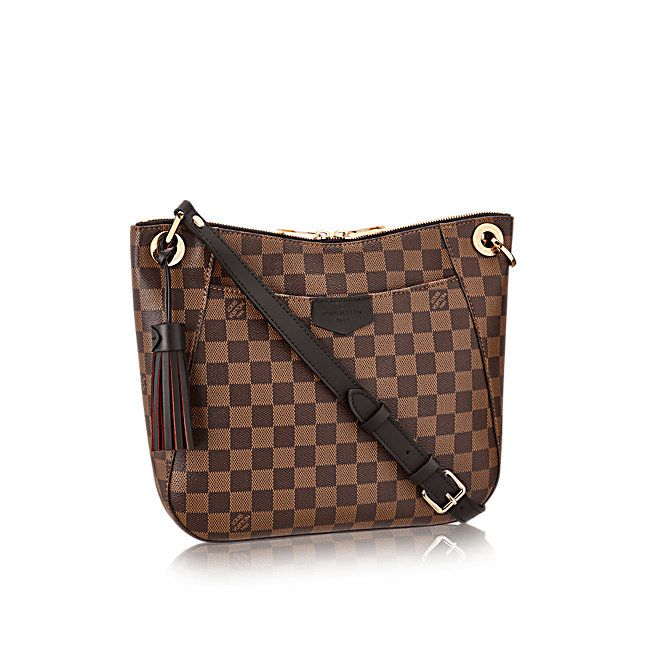 South Bank Besace Damier Ebene Women Handbags  917ccbb761baa