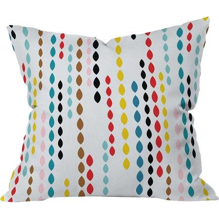 Found it at AllModern - Khristian A Howell Nolita Drops Polyester Throw Pillow http://www.allmodern.com/deals-and-design-ideas/p/Retro-Chic-Pillows-Khristian-A-Howell-Nolita-Drops-Polyester-Throw-Pillow~NDY2452~E21311.html?refid=SBP.rBAZEVU7t0NK9g8fMItLAuwchxKnXUvKvkJBmWXnk5w