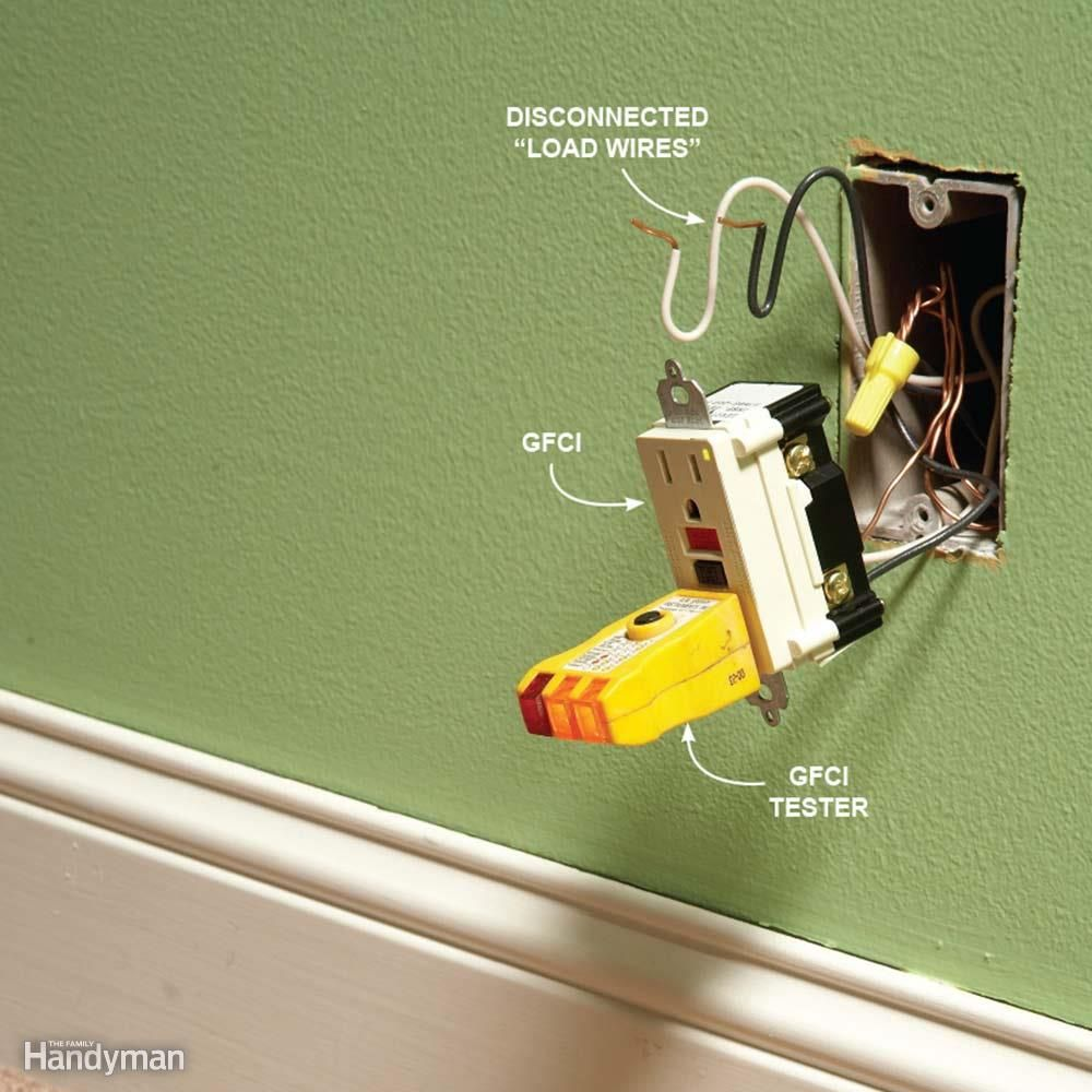 9 Tips For Easier Home Electrical Wiring Gfci Outlet Multiple Our Pros What Problems They Run Into With Gfcis And How To Solve Them Starters We Found That Most Complaints Occur When Several Outlets