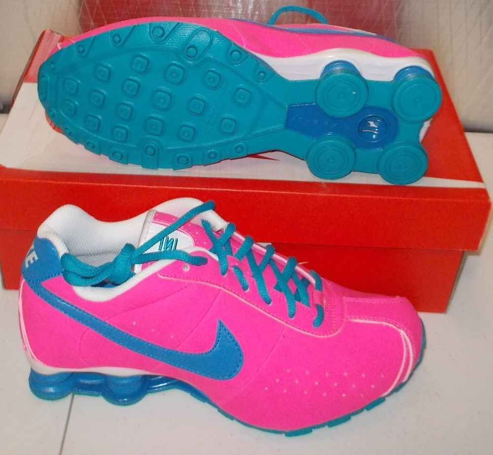 release date: release info on new authentic NEW NIKE SHOX CL CLASSIC Womens 7.5 (6Y) PINK POW BLUE LAGOON NIB ...