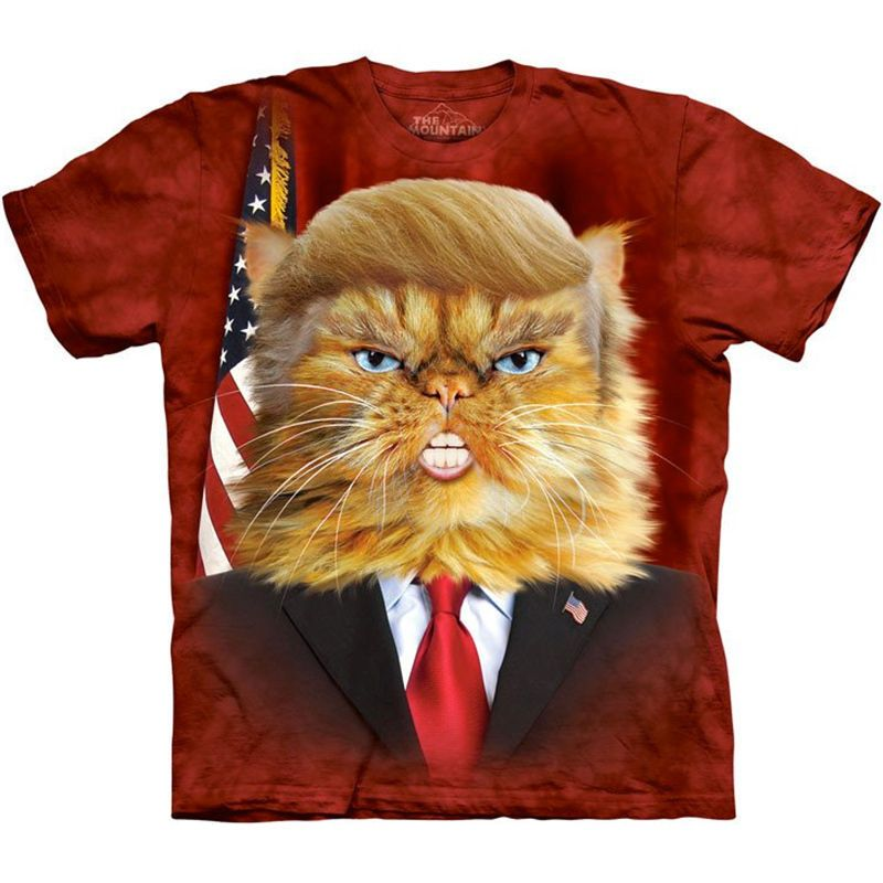 7c7652ab Donald Trump For President 2016 Election T-Shirt Make America Great Again  Cat #TheMountain #GraphicTee