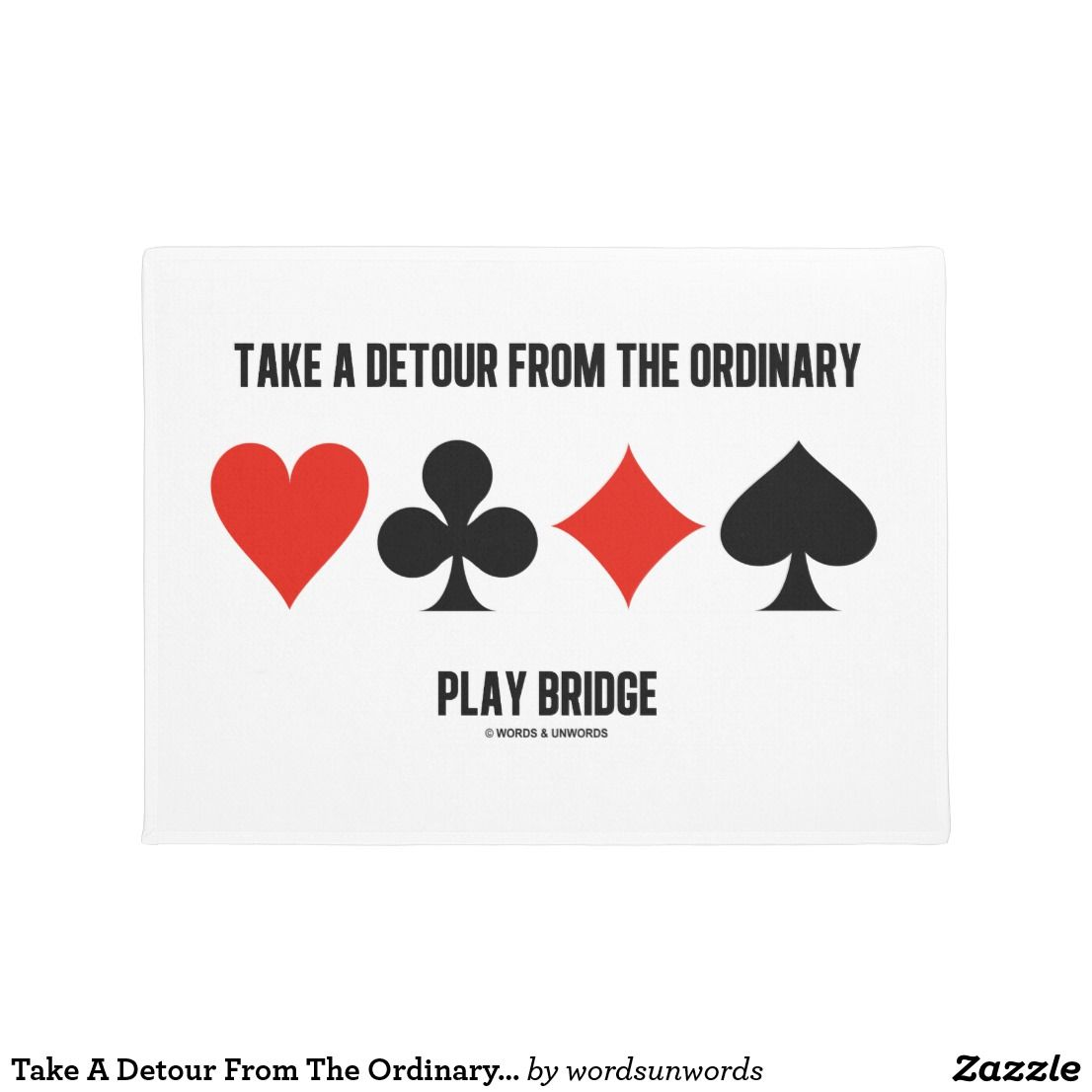 Detour from the ordinary play bridge 4 card suits play