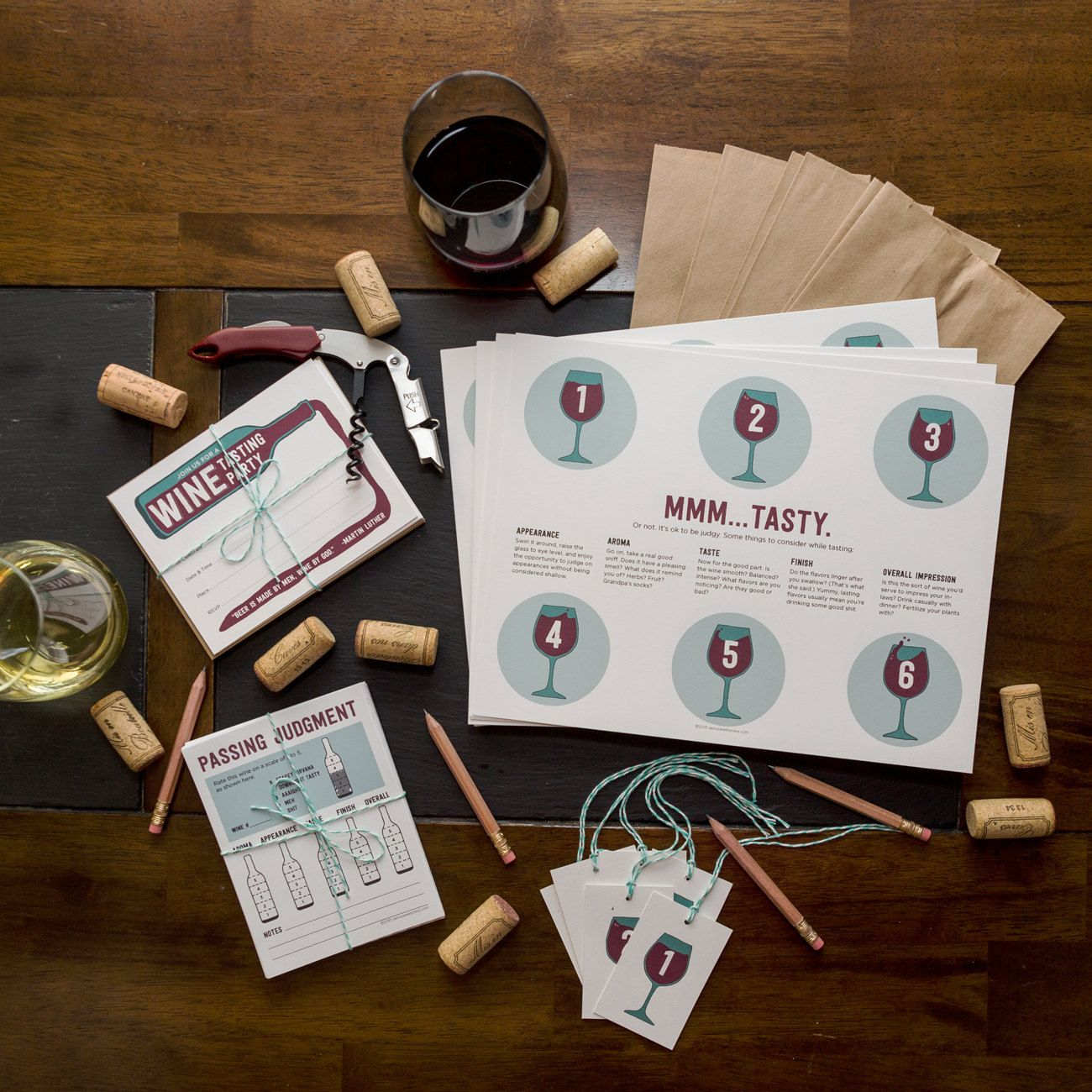 Wine Tasting Party Ideas By A