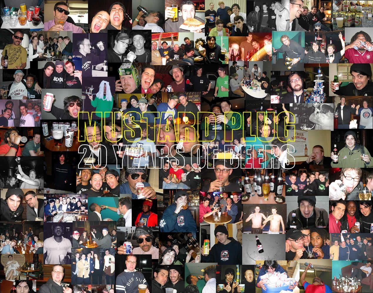 Mustard Plug!!  20 years of Beers!
