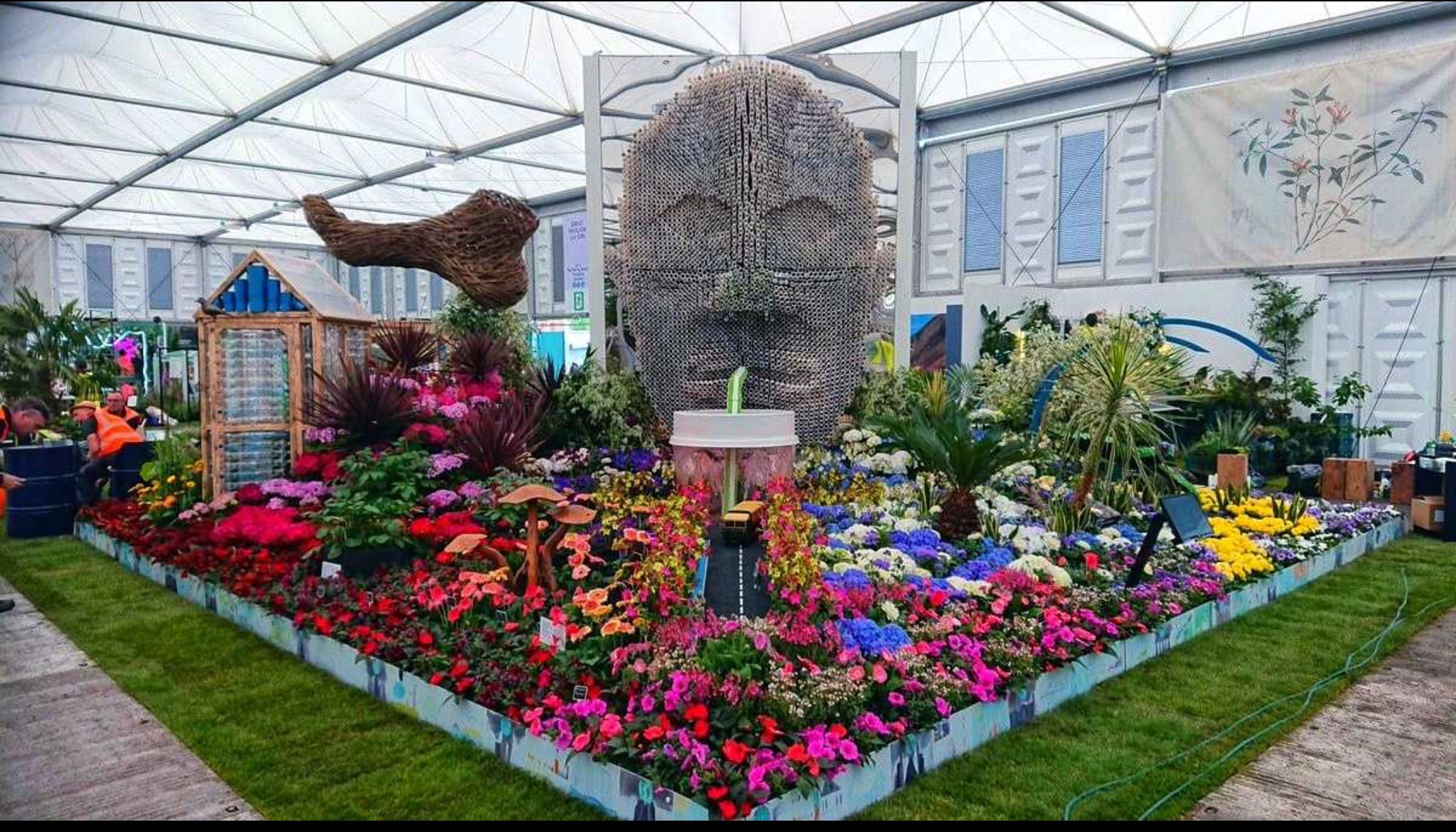 The 2019 Birmingham entry to the Royal Chelsea flower show