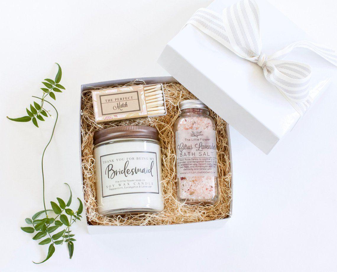Bridesmaid proposal bridesmaid gift box gift set