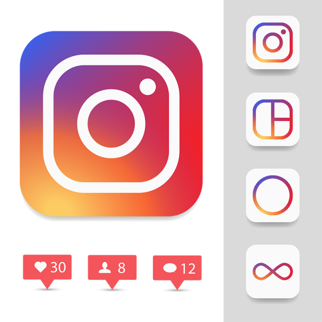 Instagram Logo Icon, Instagram Icon Sets, Ig Icon