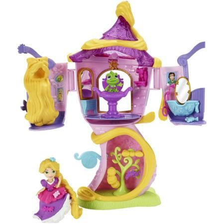 Disney Princess Little Kingdom Rapunzel's Stylin' Tower Playset with Rapunzel and Pascal Figures by Hasbro, 2016 ($15 at Walmart.com)