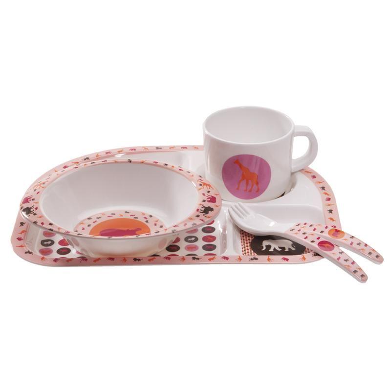 Lässig LDISH136 Geschirrset Savannah pink 5 Teile | eBay