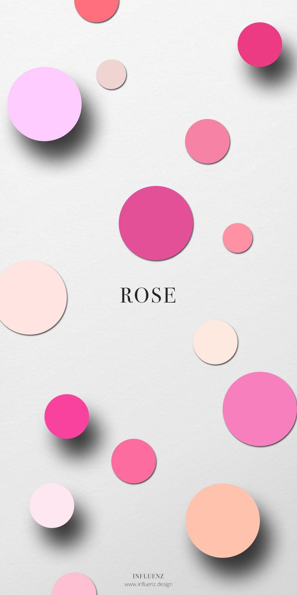 Influenz Rose Champ Chromatique Nom Des Couleurs Rose