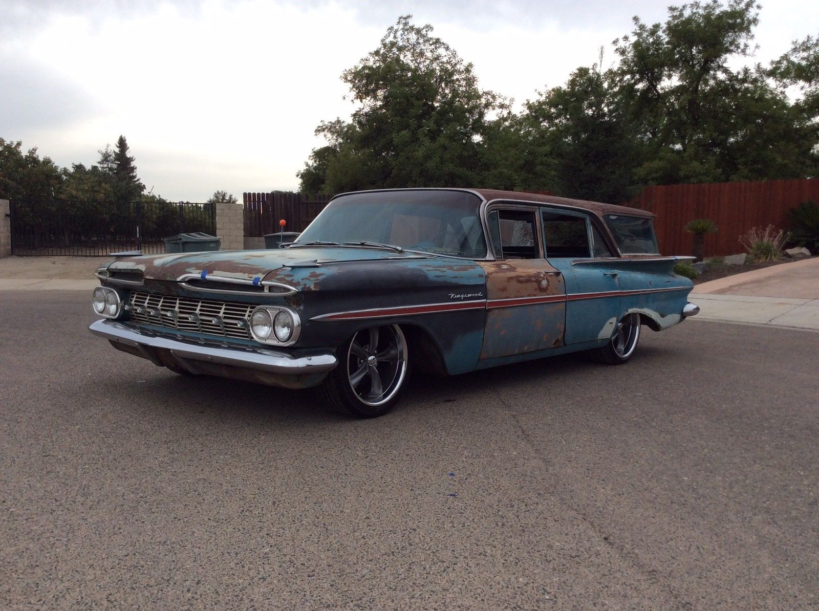 1956 ford country squire smcars net car blueprints forum - Chevrolet Impala Stainless