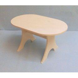Table 6p avec images mobilier de salon meuble bois - Table cuisine bois brut ...