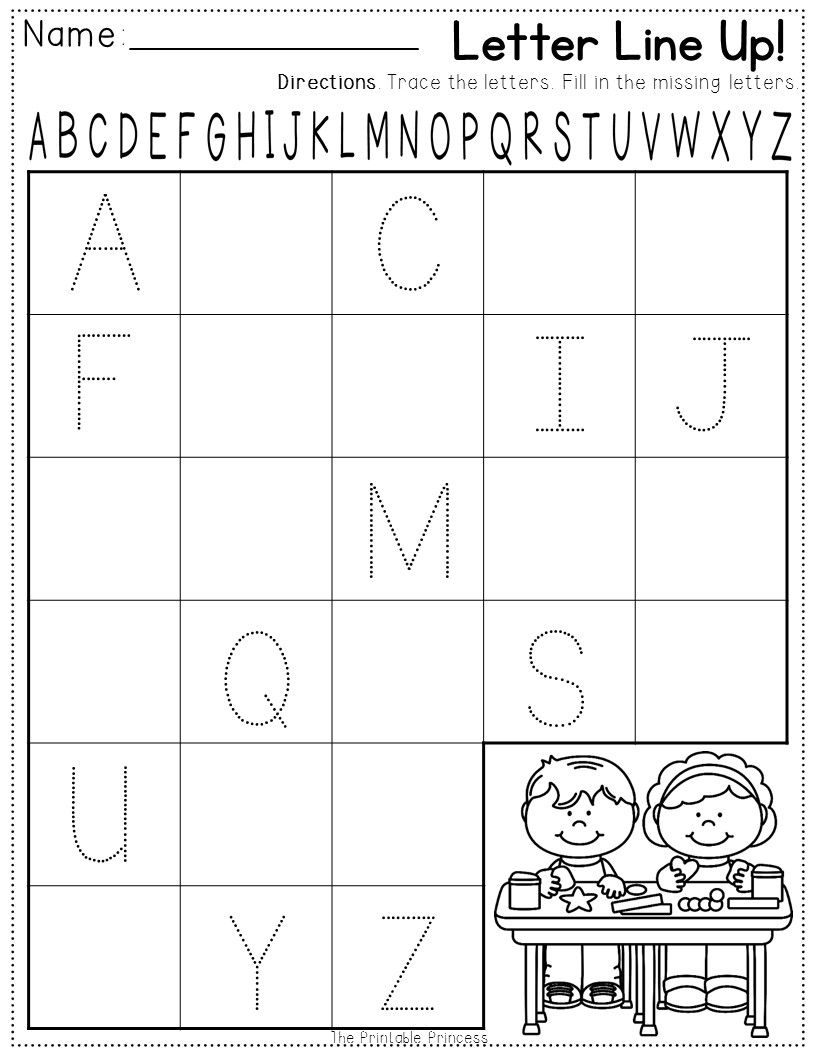 FREEBIE Backtoschool printable pack for Kindergarten – Back to School Printable Worksheets