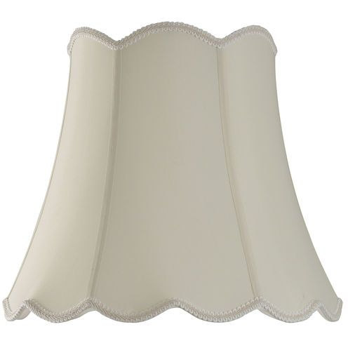 Jcpenney Lamp Shades Beauteous Home™ Scalloped Top Lamp Shade  Geneva Cream  Scalloped Tops Design Ideas