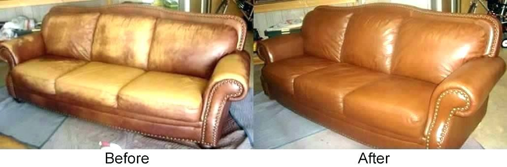 How To Repair Leather Sofa Color