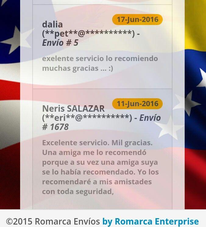 ¡Más clientes satisfechos con nuestro servicio! #RomarcaEnvios #EnvioDeDinero