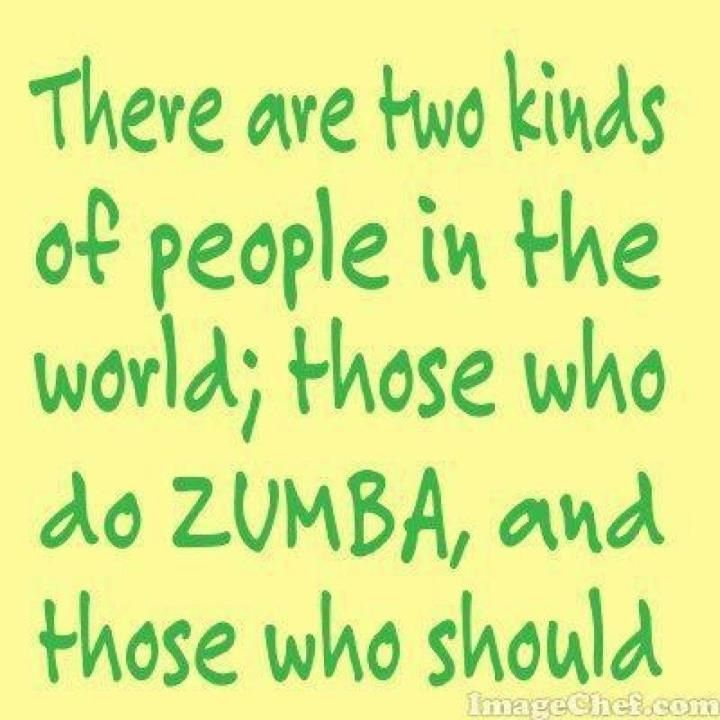 Zumba ❤ perfect for everyone!!! Even MEN! | Zumba quotes ...