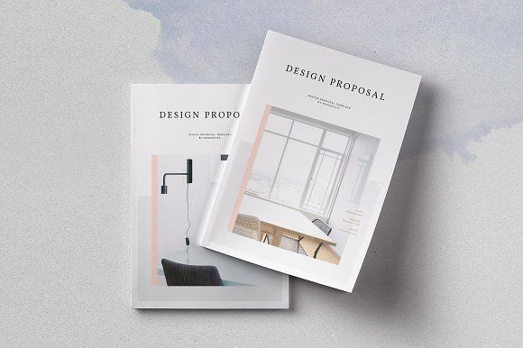 Design Proposal Proposals, Brochure template and Brochures