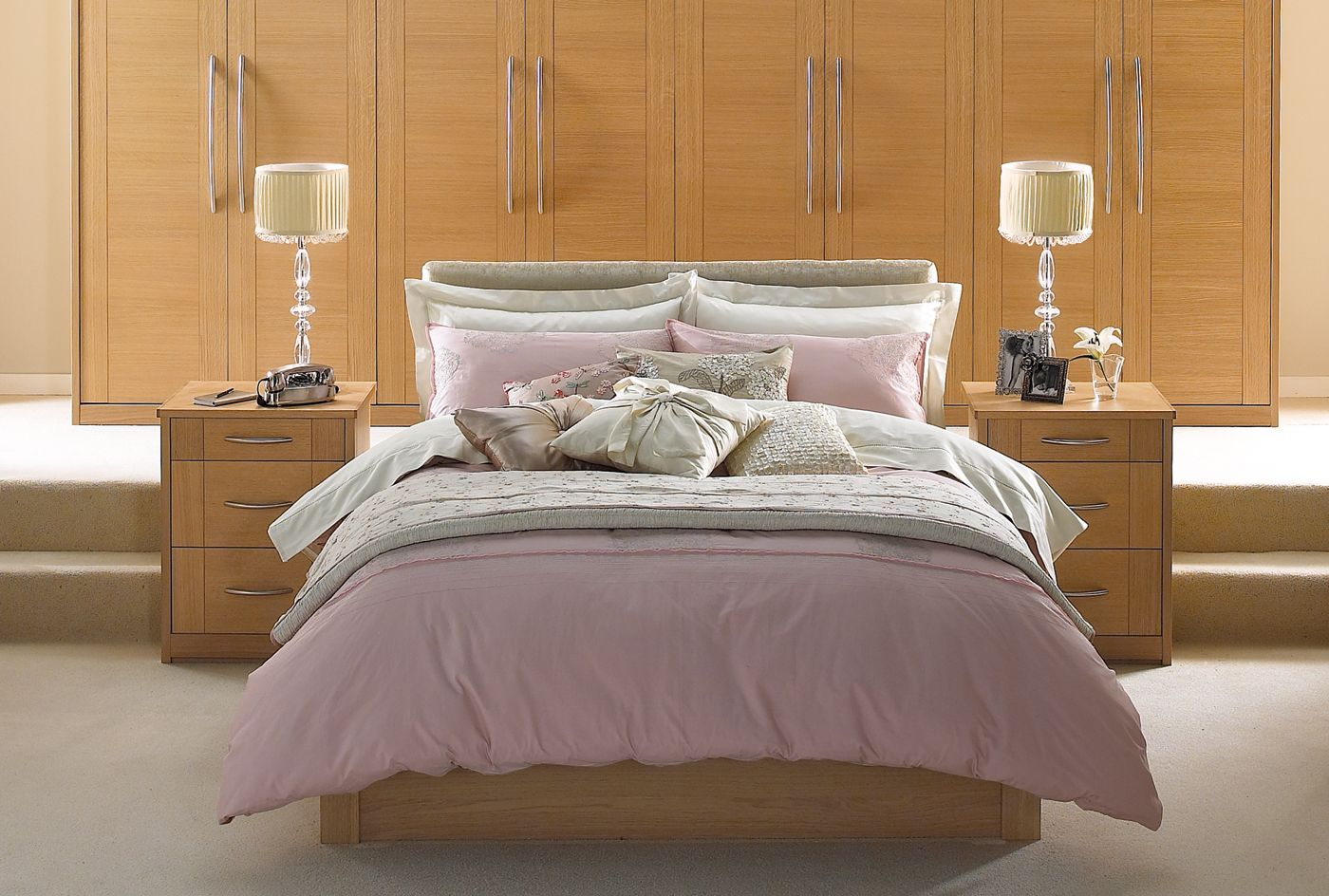Latitude oak bedroom furniture u oak wardrobes from sharps