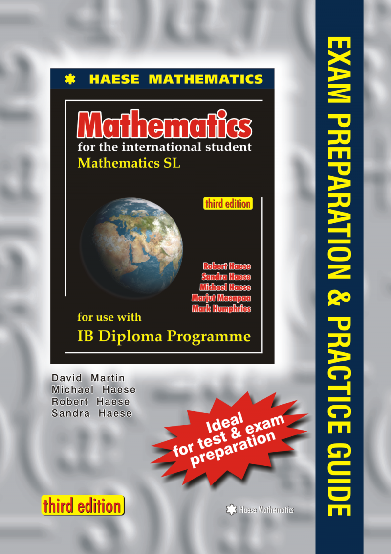 The aim of this Guide is to help students prepare for the Mathematics SL  final examinations. ISBN: 9781921972102