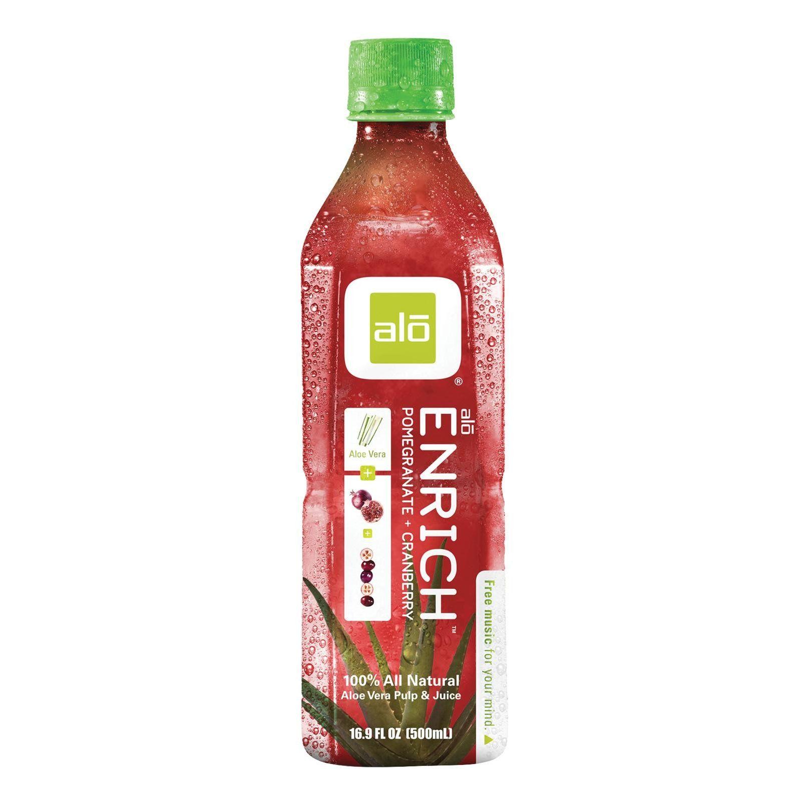 Alo Original Enrich Aloe Vera Juice Drink Pomegranate