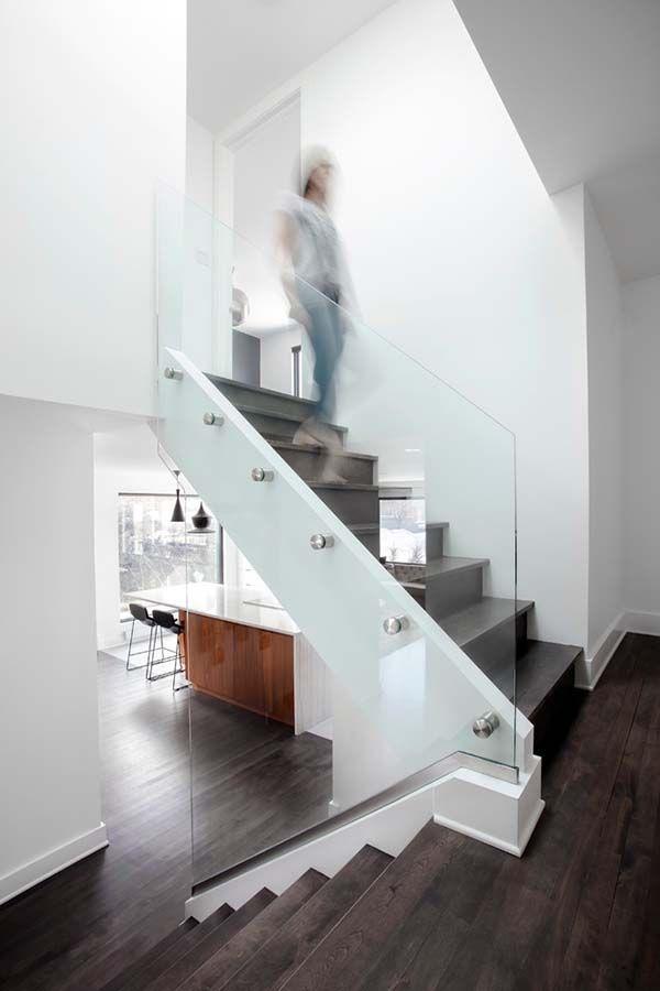 Split-level contemporary home in Mont Royal, Quebec   Quebec ...
