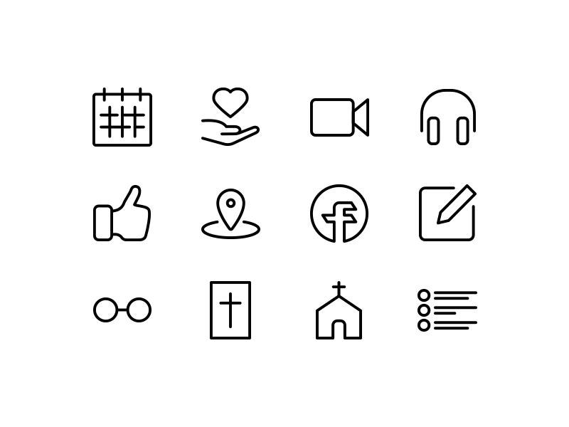 Fuel Church Mobile App Icons Mobile App Icon Mobile App App Icon