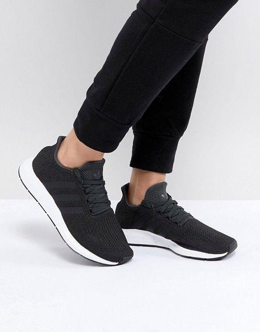 adidas Originals Swift Run Sneakers In Black | Zapatillas de ...