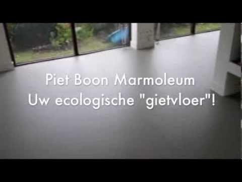Marmoleum Of Gietvloer : Egaliseren en piet boon marmoleum leggen home home