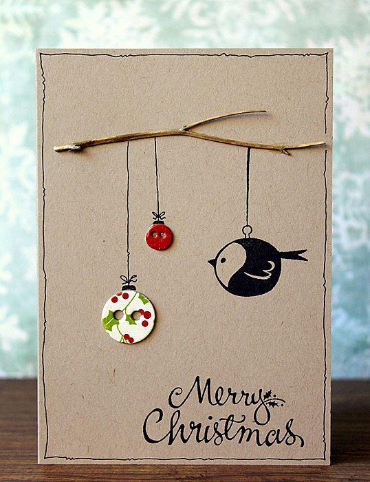 Nice Ideas To Make A Christmas Card Part - 13: Card Ideas