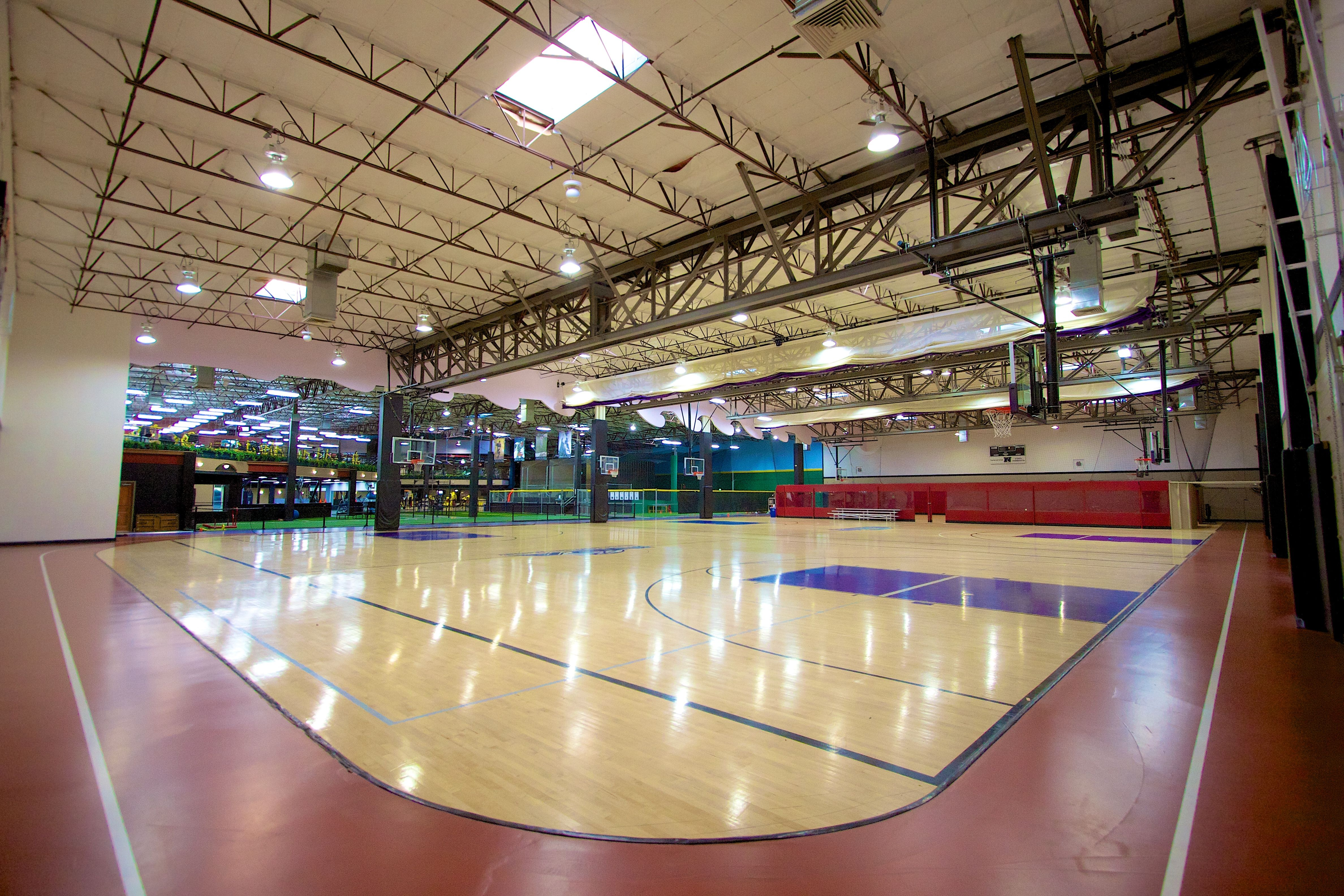 Indoor Running Track And Basketball Courts Basketball Indoor Basketball Court Basketball Shooting Drills