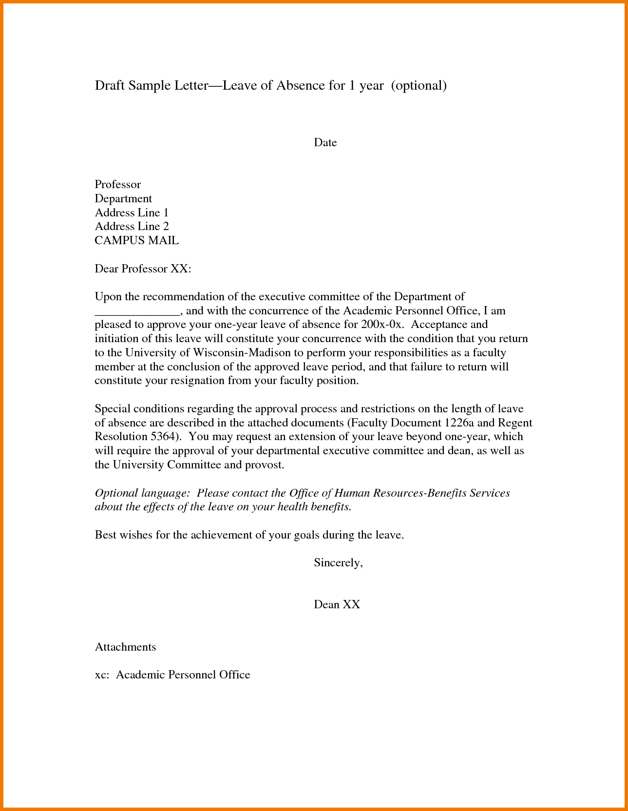 request letter for leave format school petition example