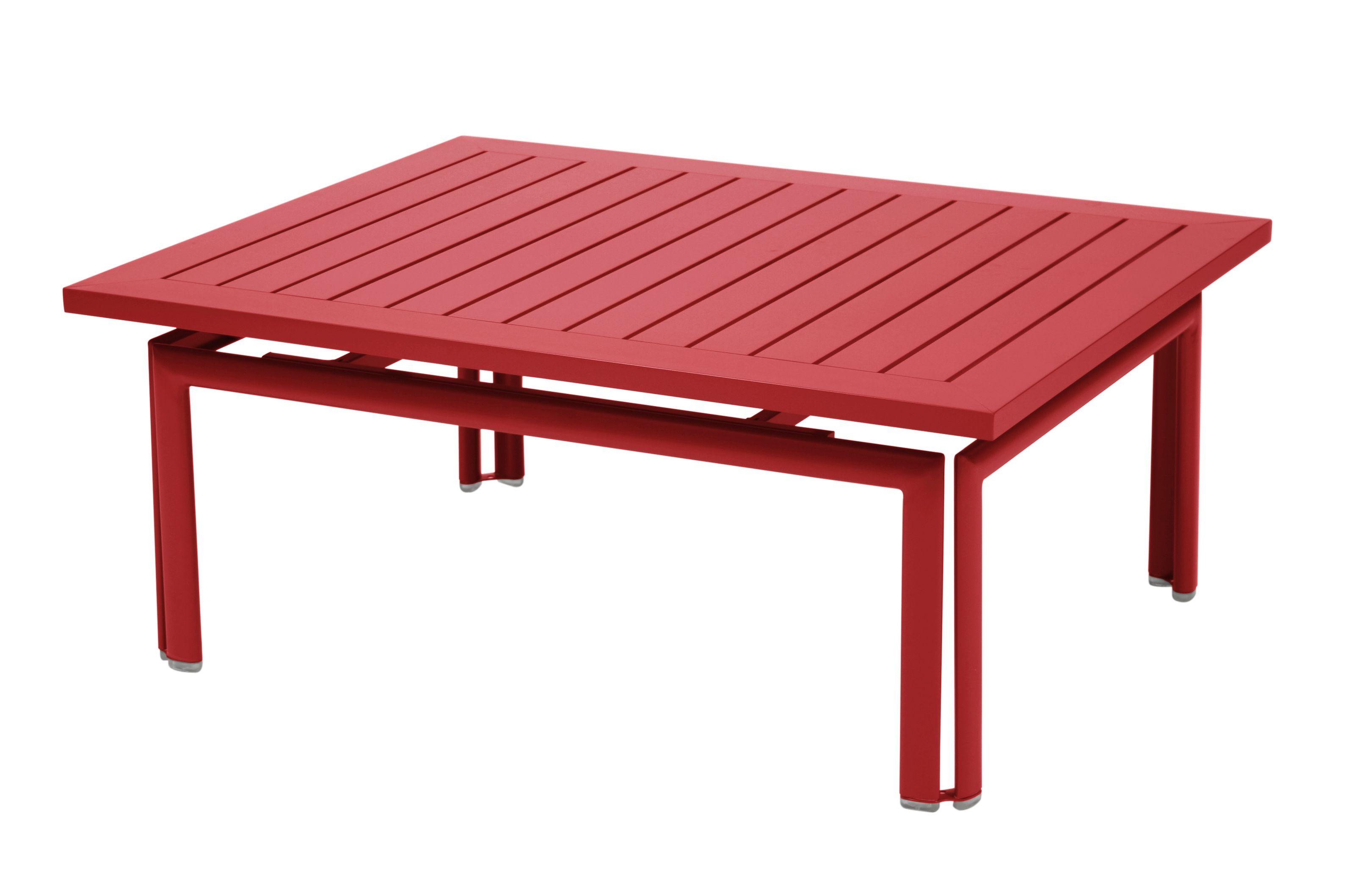 Table basse Costa, table basse pour salon de jardin   COQUELICOT ...