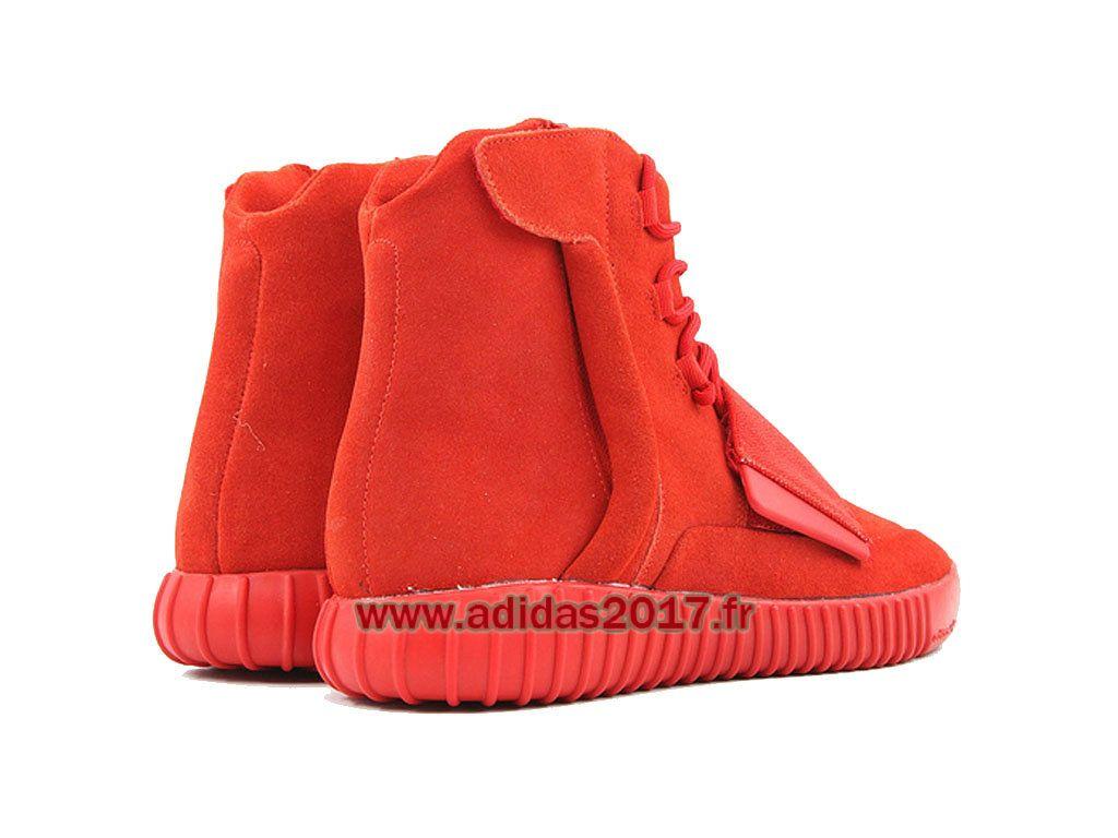 495c6491f8dff5 Adidas Yeezy Boost 750 - Chaussure de Originals Pas Cher Pour Homme/Femme  rouge-